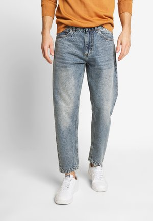 Straight leg jeans - rigid blue