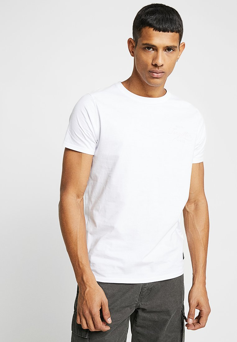 Shine Original - FORGOTTON PRINT TEE  - T-Shirt print - white