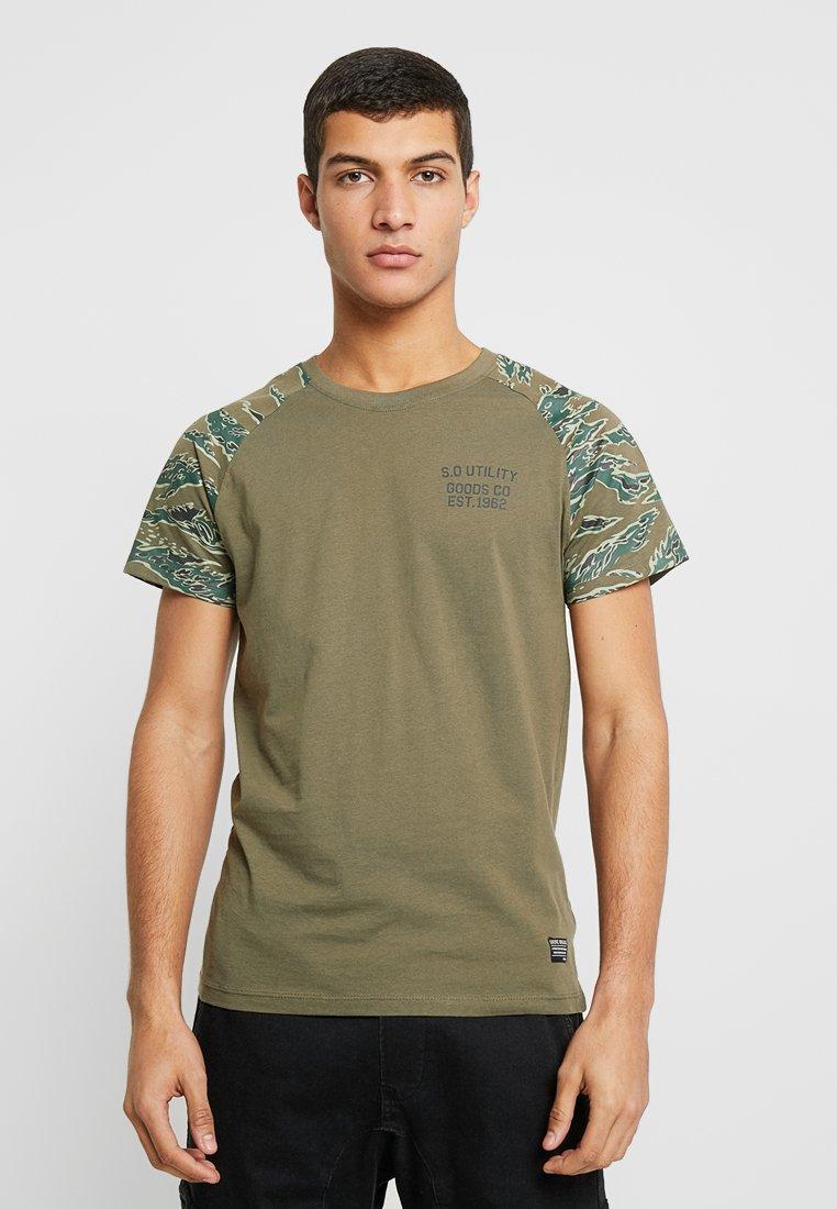 Shine Original - CAMO TEE - T-shirt con stampa - army