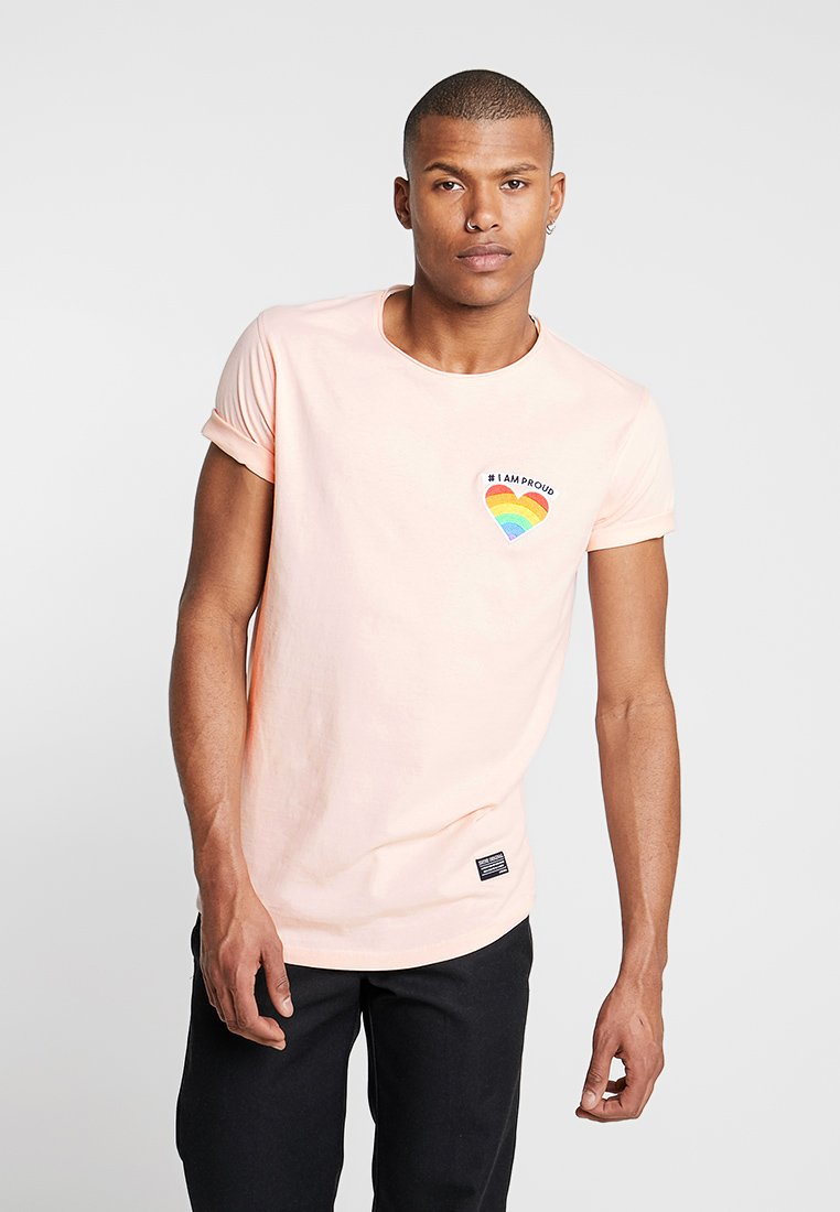Shine Original - TEE CURVED BOTTOM - T-shirt print - light pink