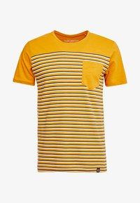 Shine Original - STRIPE POCKET TEE - T-Shirt print - camel - 3