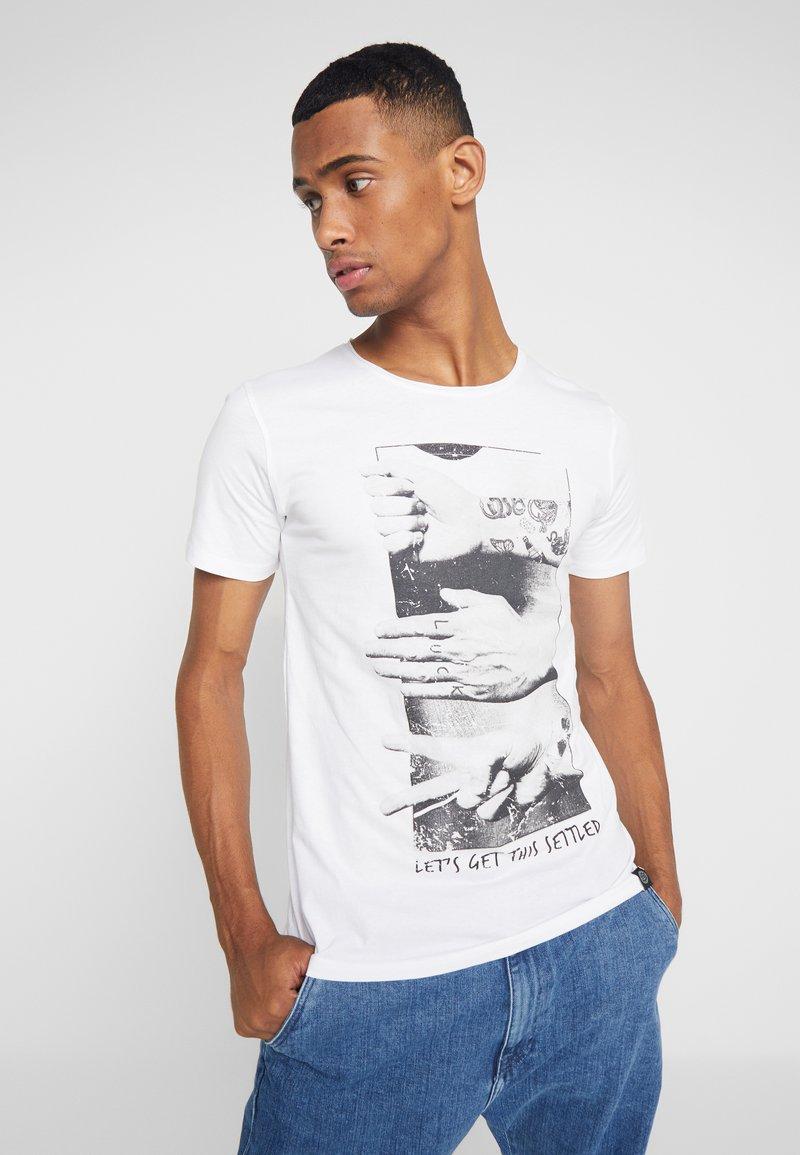 Shine Original - HUMOUR TEE - T-Shirt print - white