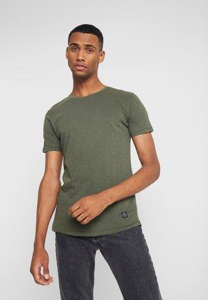 SLUB TEE - T-Shirt basic - army