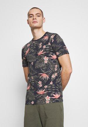AOP TEE - Camiseta estampada - dark blue