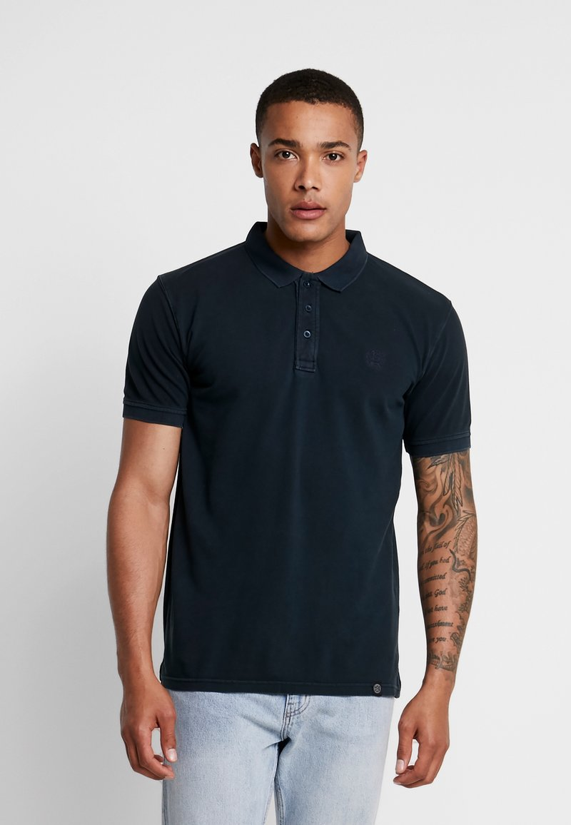 Shine Original - DYED AND WASHED OUT  - Poloskjorter - navy