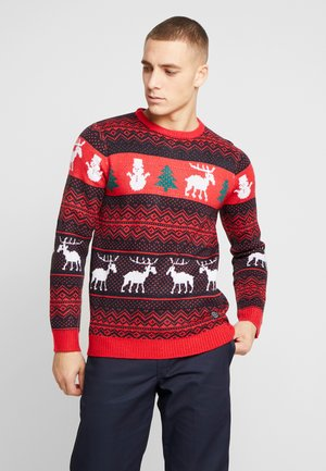 CHRISTMAS - Strickpullover - red