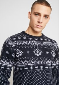 Shine Original - CHRISTMAS - Neule - navy - 4