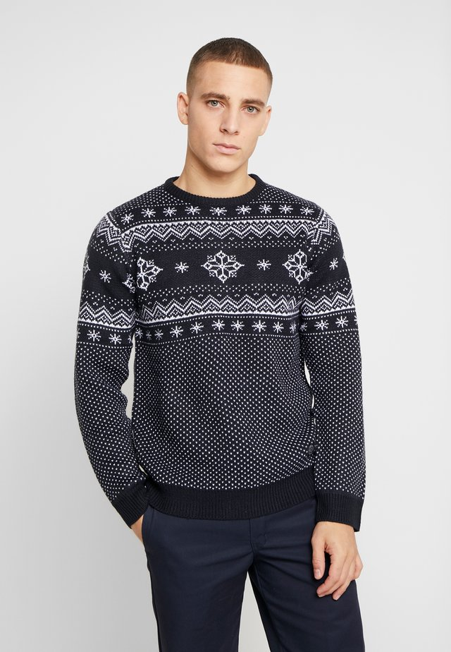 CHRISTMAS - Neule - navy