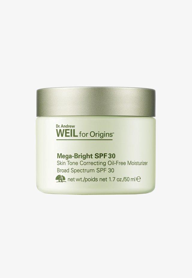 DR. WEIL MEGA BRIGHT SPF30 SKIN TONE CORRECTION OIL-FREE MOISTURIZER 50ML - Gesichtscreme - -