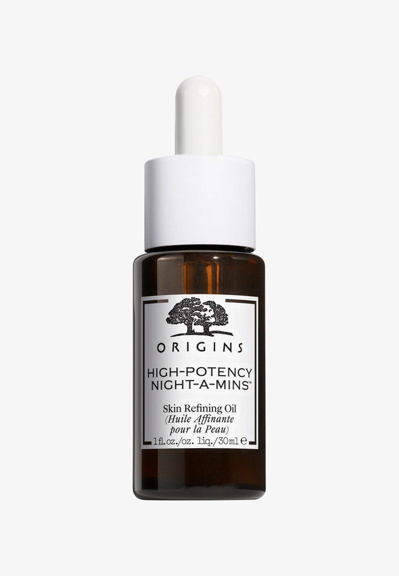 Origins - HIGH POTENCY NIGHT-A-MINS SKIN REFINING OIL 30ML - Face oil - -