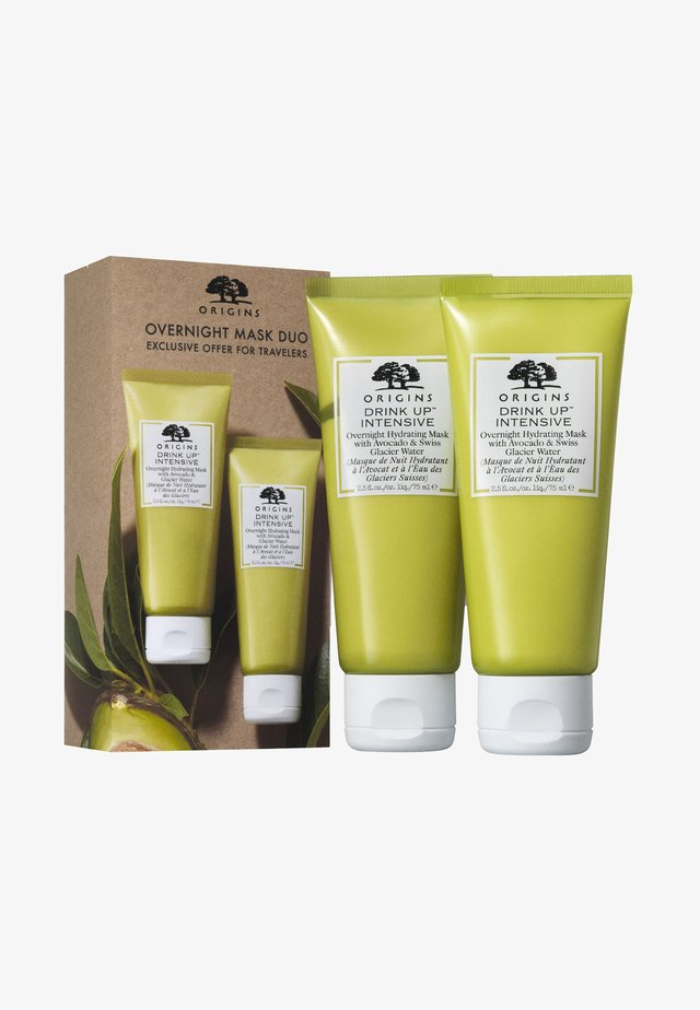 OVERNIGHT MASK DUO EXCLUSIVE - Skincare set - -