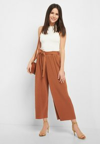 ORSAY - CULOTTE - Trousers - mocca - 1