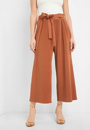 CULOTTE - Trousers - mocca