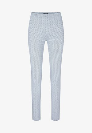 MIT MUSTER - Trousers - nachtblau
