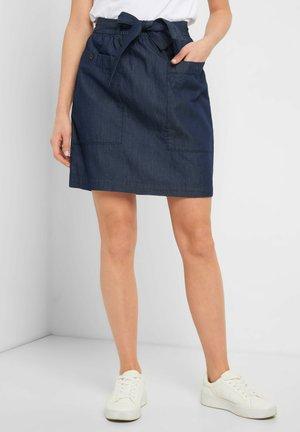 A-line skirt - dark stoned