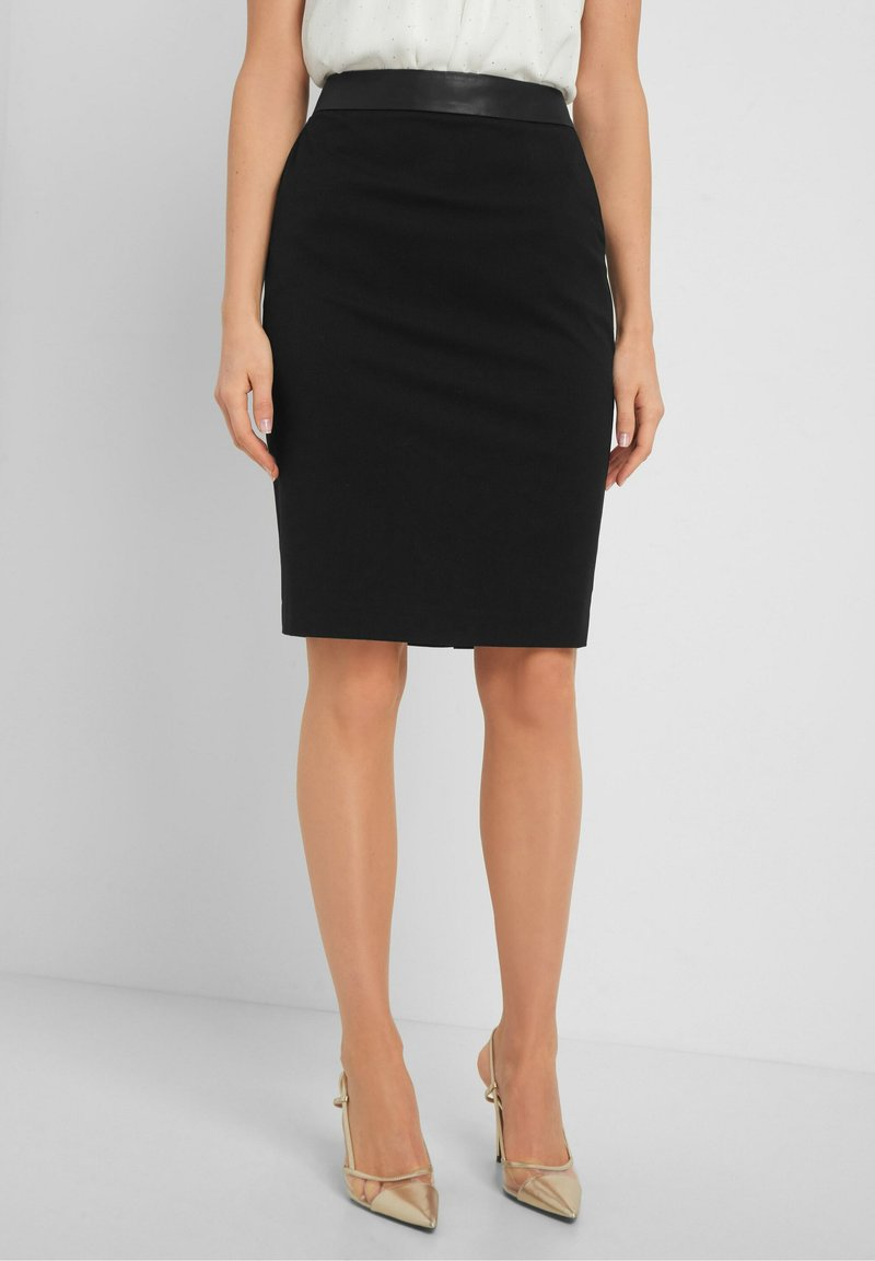 ORSAY - Pencil skirt - schwarz