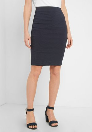Pencil skirt - nachtblau