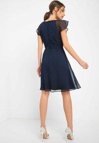 ORSAY - PARTYKLEID MIT SCHMUCKSTEINEN - Day dress - ink blue - 2
