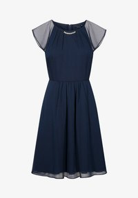 ORSAY - PARTYKLEID MIT SCHMUCKSTEINEN - Day dress - ink blue - 3