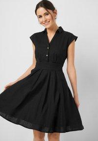 ORSAY - Shirt dress - schwarz - 0