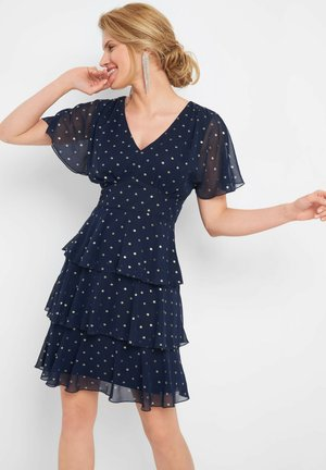 Day dress - tintenblau