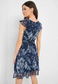 ORSAY - MIT MUSTER - Day dress - tintenblau - 2