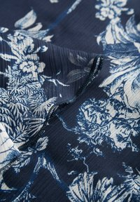 ORSAY - MIT MUSTER - Day dress - tintenblau - 4
