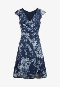 ORSAY - MIT MUSTER - Day dress - tintenblau - 3