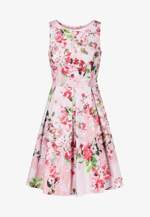MIT BLUMENMUSTER - Day dress - rosa