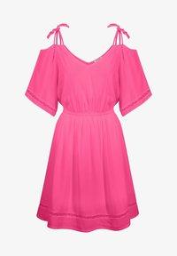 ORSAY - Day dress - leuchtrosa - 2