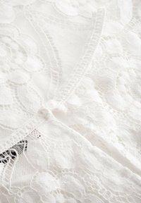 ORSAY - ORSAY SPITZENBLUSE - Blouse - white - 4