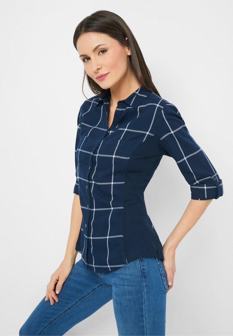 ORSAY - Button-down blouse - tintenblau