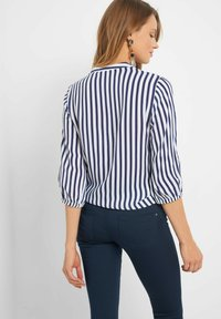 ORSAY - STICKEREI - Button-down blouse - tintenblau - 2