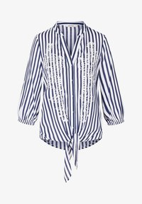 ORSAY - STICKEREI - Button-down blouse - tintenblau - 3