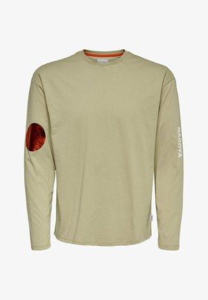 Maglietta a manica lunga - sandshell