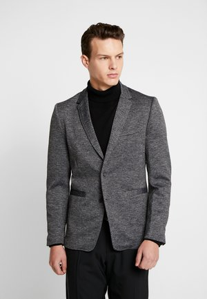 ONSMATTI HERRINGBONE - Marynarka - dark grey
