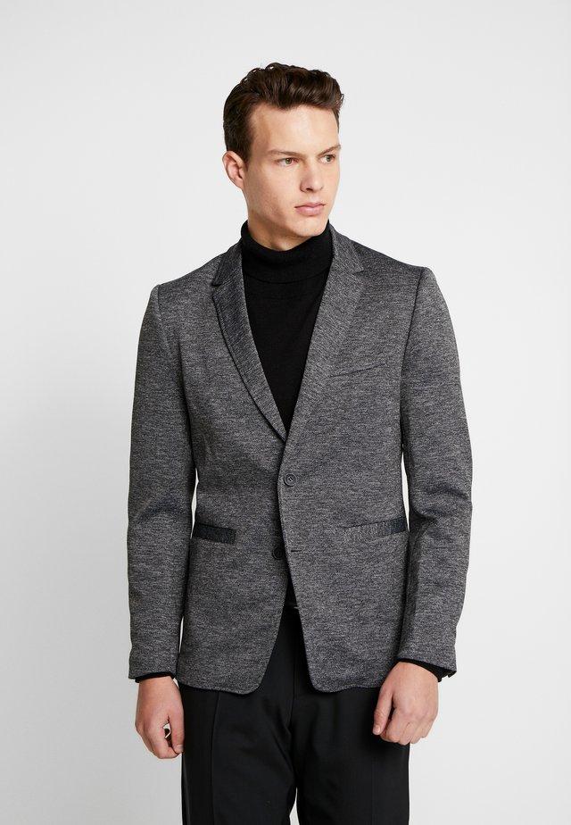 ONSMATTI HERRINGBONE - Blazer jacket - dark grey