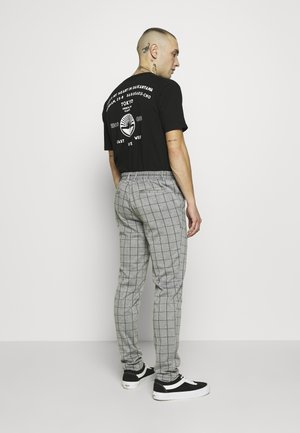 ONSELIAS GRID PANTS - Kalhoty - light grey melange