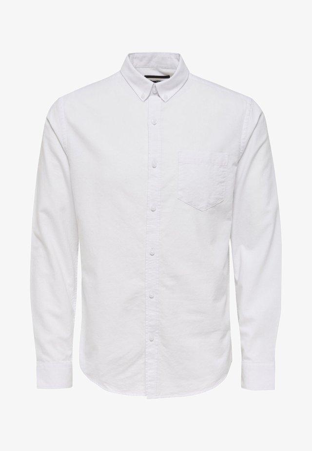 ONSALVARO OXFORD - Hemd - white