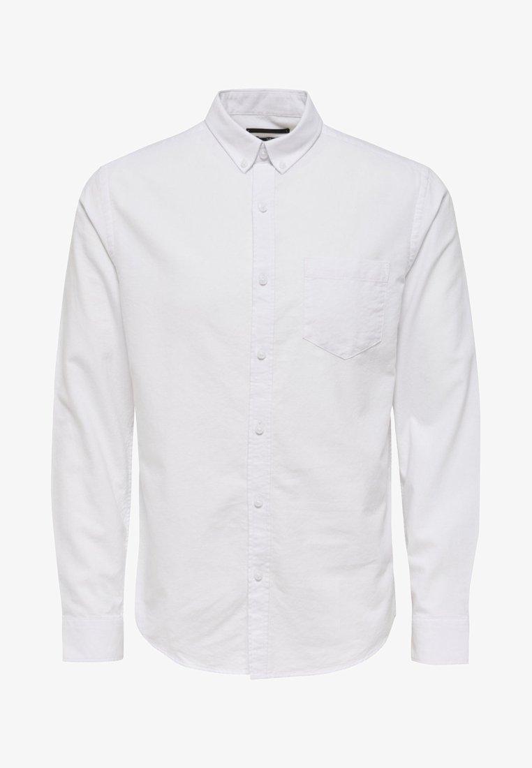 Only & Sons - ONSALVARO OXFORD - Hemd - white