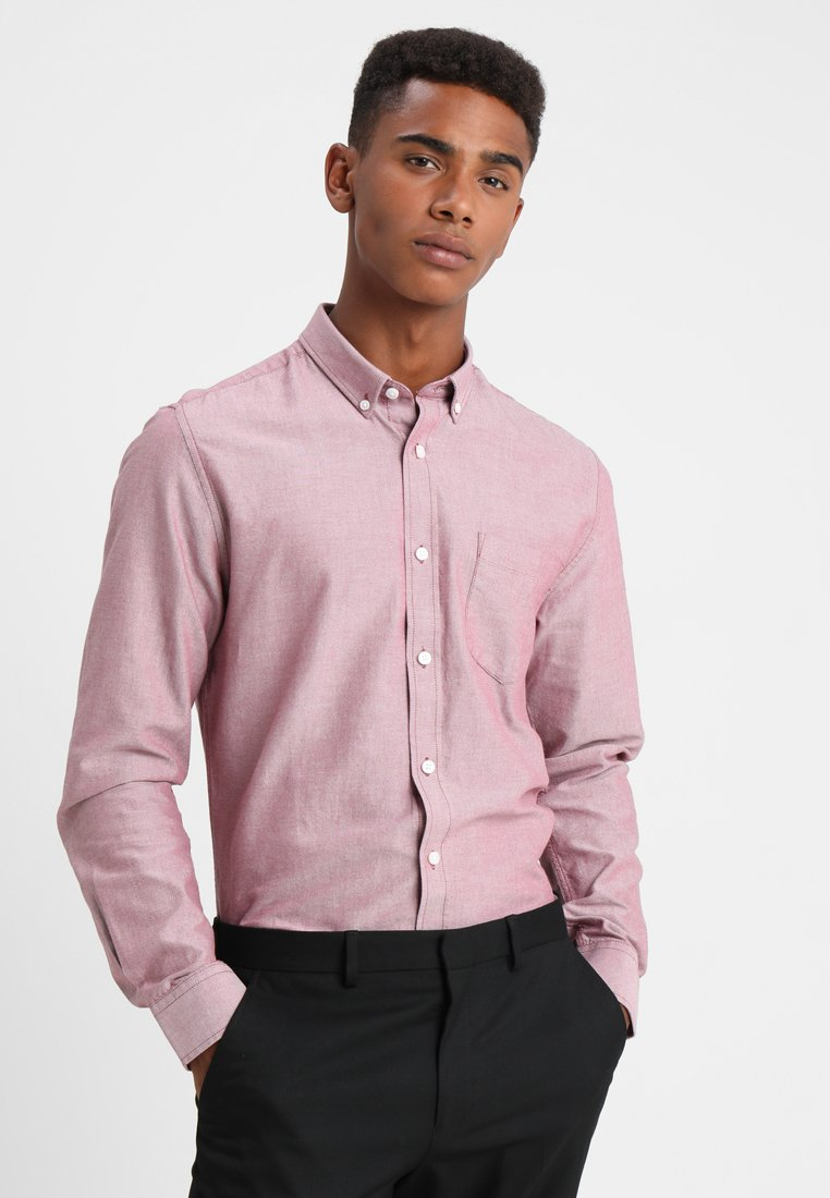 Only & Sons - ONSALVARO OXFORD - Shirt - maroon