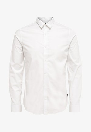 ONSALFREDO LS SHIRT EX-SLIM NOOS - Camisa - white