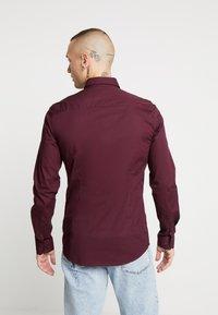 Only & Sons - ONSALFREDO SHIRT SLIM  - Shirt - winetasting - 2