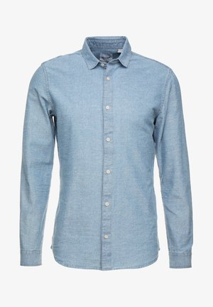 ONSTED SLUB CHAMBRAY SHIRT - Vapaa-ajan kauluspaita - medium blue denim