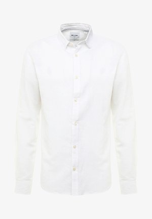 ONSCAIDEN LS SOLID LINEN SHIRT NOOS - Košile - white