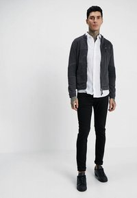 Only & Sons - ONSCAIDEN LS SOLID LINEN SHIRT NOOS - Koszula - white - 1