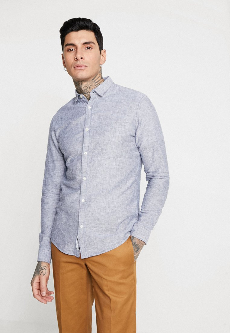 Only & Sons - ONSCAIDEN SOLID - Shirt - dress blues