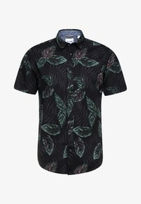 Only & Sons - ONSTIMOTHY SS FLORAL SHIRT RE - Camicia - black - 3