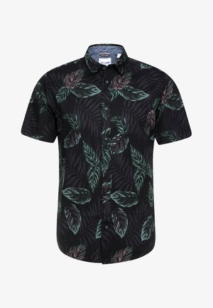 ONSTIMOTHY SS FLORAL SHIRT RE - Overhemd - black