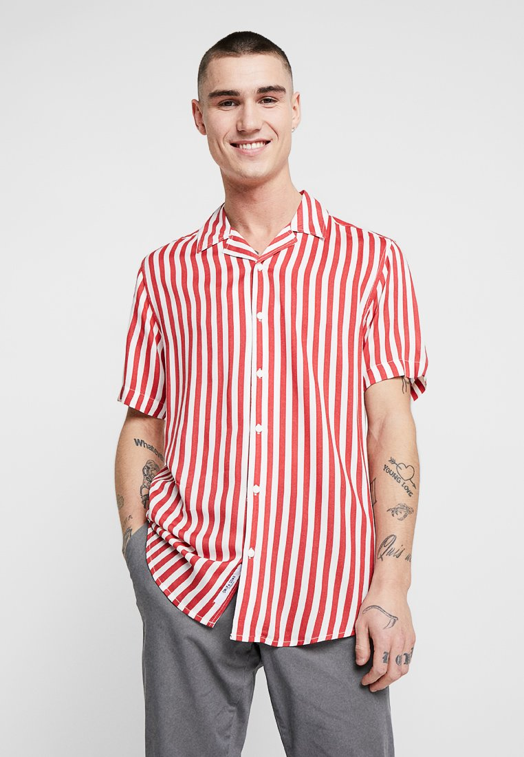 Only & Sons - ONSWAYNE STRIPED SHIRT - Camicia - cranberry
